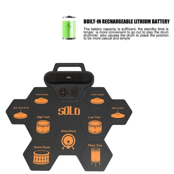 Portable Digital Electronic Drum Pad Must Have Best Party Gadgets HOBBY-LIFESTYLE PARTY