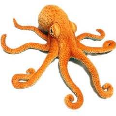 HOBBY-LIFESTYLE TRAVEL Big Octopus Octopus Plush Toy Pillow Creative Realistic Gift 55cm / Camel