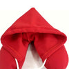 Red Hooded pillow