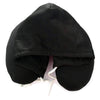 Black Hooded pillow