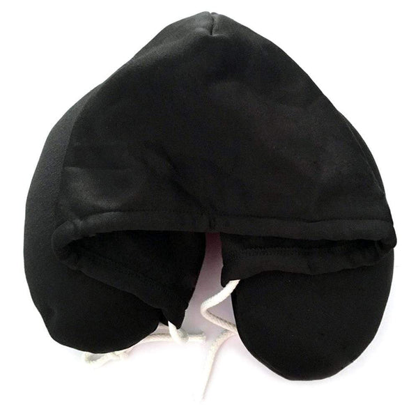 Hooded U-Shaped Pillow Office Travel Head Rest Neck Support Eye Mask HOBBY-LIFESTYLE TRAVEL