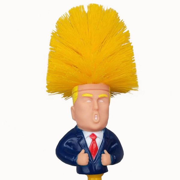 Donal Trump Toilet Cleaning Brush Gag Toys To Buy HOME-GARDEN BATHROOM