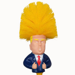 HOME-GARDEN BATHROOM Donal Trump Toilet Cleaning Brush Gag Toys To Buy