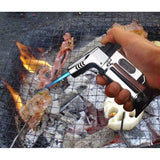 HOME-GARDEN BBQ Pistol Figured Windproof BBQ Turbo Lighter Awesome Gadgets to Buy 01