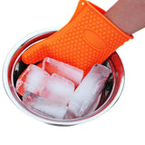 HOME-GARDEN KITCHEN 1pc Heat Resistant Thick Silicone Baking Glove Cool Stuff For BBQ Kitchen