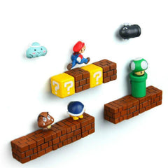 HOME-GARDEN KITCHEN 3D Super Mario Fridge Magnets Awesome Thing to Buy