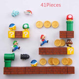 HOME-GARDEN KITCHEN 3D Super Mario Fridge Magnets Awesome Thing to Buy 41 Combinations