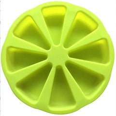 HOME-GARDEN KITCHEN 8 Triangle Silicone Cake Baking Mold Cool Thing to Kitchen