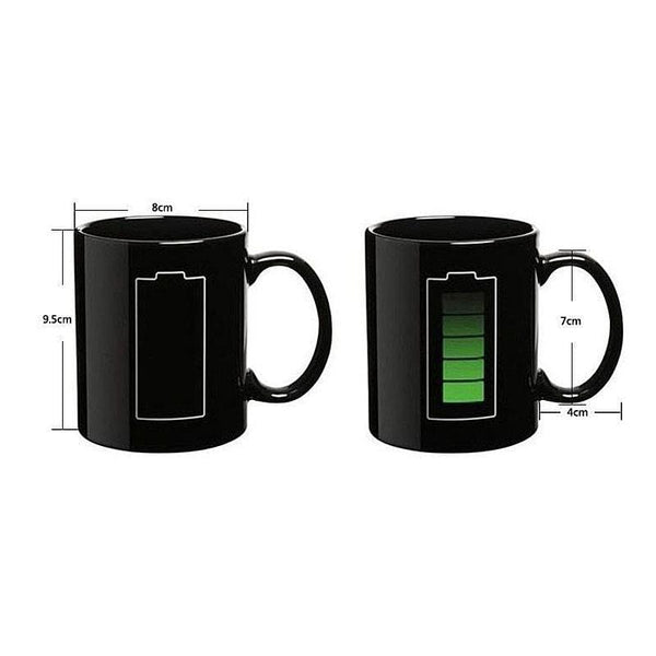 Battery Mug That Changes Color With Magic Hot Water HOME-GARDEN KITCHEN