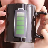 HOME-GARDEN KITCHEN Battery Mug That Changes Color With Magic Hot Water 01