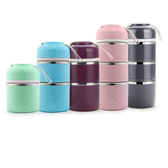 Stainless Steel Healthy Mini Cute Travel Office School Lunch Box