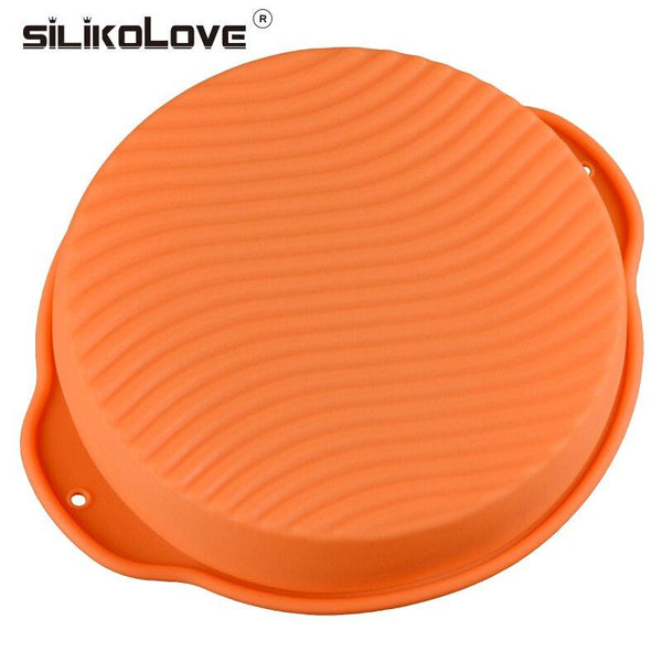 Round Silicon Cake Mould Pastry Tools For the Kitchen HOME-GARDEN KITCHEN