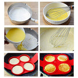 HOME-GARDEN KITCHEN Silicone Egg Pancake Baking Mold Must Have Gadgets to House