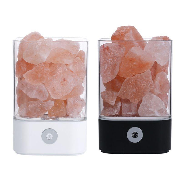 USB LED Air Purifier Crystal Salt Light HOME-GARDEN LAMPS