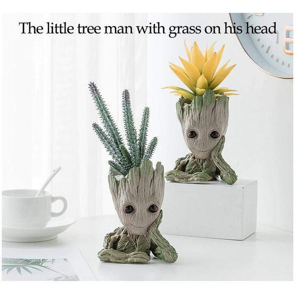 Baby Groot Flower Pot Pen Holder Cool Stuff to Buy for Decoration HOME-GARDEN LIVING ROOM