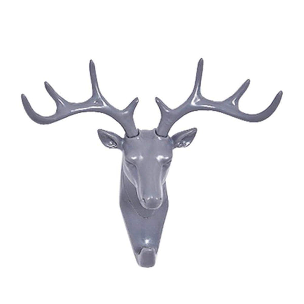 Creative Deer Head Hooks Door Wall Hanging Holders HOME-GARDEN LIVING ROOM