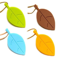 HOME-GARDEN LIVING ROOM Creative Leaf Design Safety Silicone Door Stop Home Decor For Kids