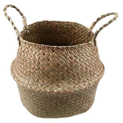 Seagrass Decorative Wicker Storage Basket Awesome Thing for Home HOME-GARDEN LIVING ROOM