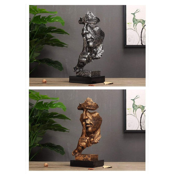 Vintage Silence Soldier Statue for Home Decor HOME-GARDEN LIVING ROOM