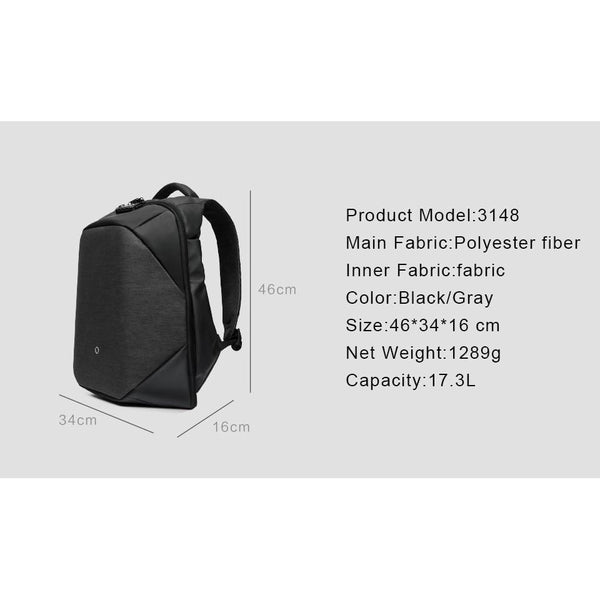 Waterproof Multifunction Anti-Theft Backpack Awesome Stuff to Buy HOME-GARDEN TRAVEL