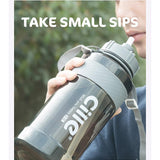 HOME-GARDEN TRAVEL Large Capacity Portable Sports Water Bottles