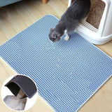 PET PRODUCTS CAT PRODUCTS Foldable Waterproof Cat Litter Mat Corking Stuff for Cat