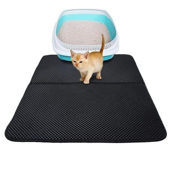 Foldable Waterproof Cat Litter Mat Corking Stuff for Cat PET PRODUCTS CAT PRODUCTS