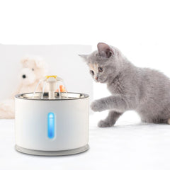 PET PRODUCTS CAT PRODUCTS Stainless Automatic Water Fountain Best Gift for Cat 01