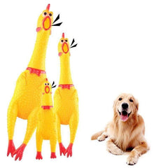 Yellow Color Screaming Chicken Toy For Your Cat and Dog