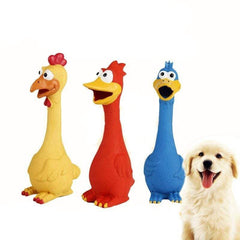 Cute Funny Screaming Chicken Dog Toy