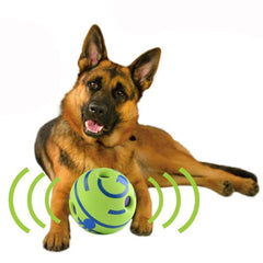 PET PRODUCTS DOG PRODUCTS Fun Giggle Sounds Silicone Dog Toy Ball