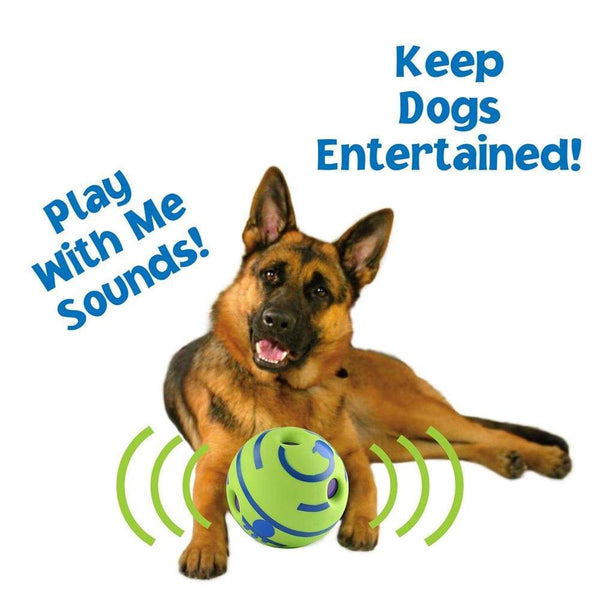 Fun Giggle Sounds Silicone Dog Toy Ball PET PRODUCTS DOG PRODUCTS