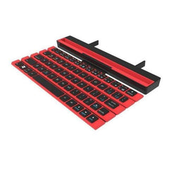 TECH GADGETS COMPUTER Foldable Mini Computer Keyboard Awesome Stuff For Phone Tablet Laptop Red