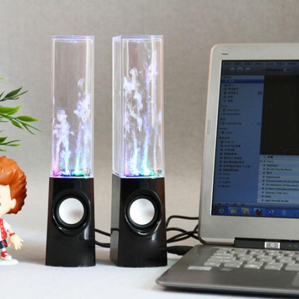 Creative LED Light Bluetooth Dancing Water Fountain Speaker Gadget TECH GADGETS SPEAKERS