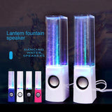 TECH GADGETS SPEAKERS LED Light Wireless Dancing Water Fountain Speaker