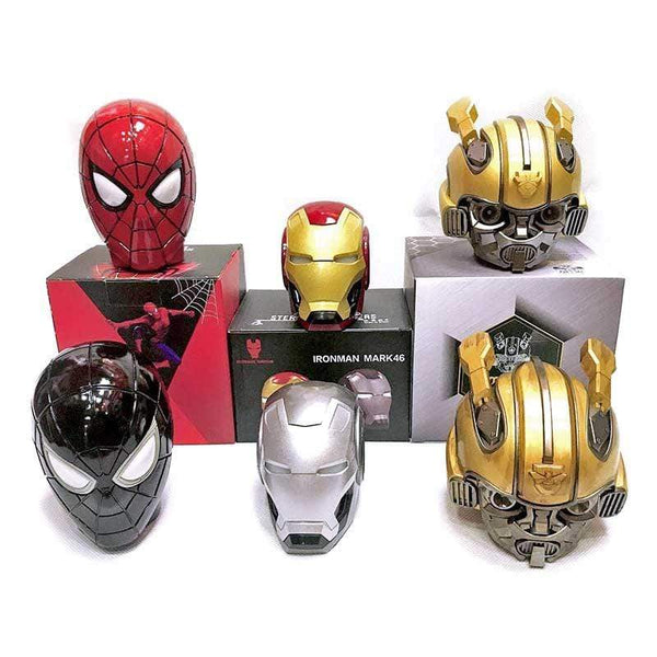 Spiderman Bumblebee Iron Man Optimus Marvel Hero Bluetooth Speaker TECH GADGETS SPEAKERS