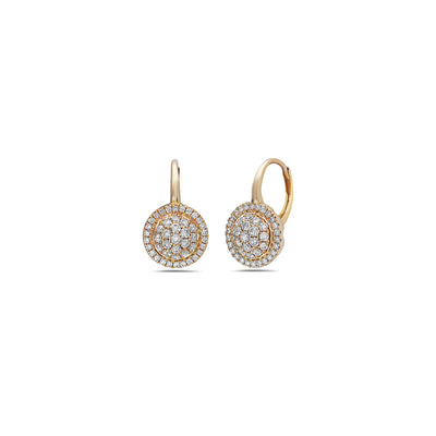 Diamond Station Drop Earring