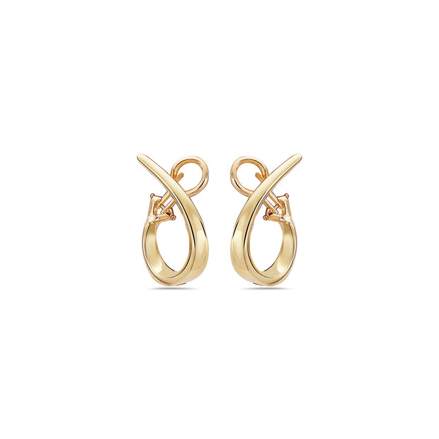 Signature Twisted Hoop Earring