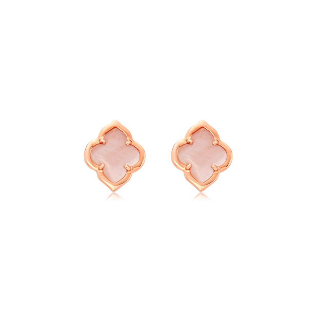 Gold Collection Les Fleurs Stud Earring