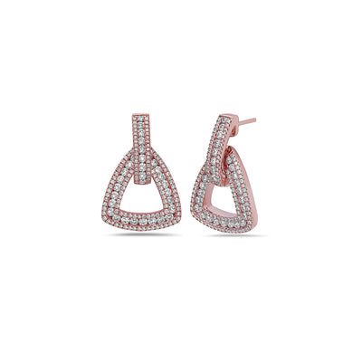 Krypell Collection Diamond U Earring