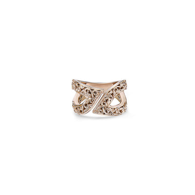 Gold Ivy Leif Ring