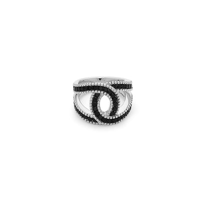 Silver Ivy C Ring