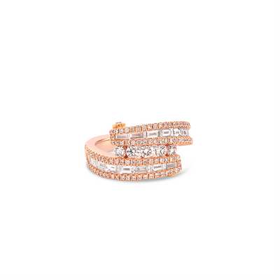 Baguette 'Ice' Ring