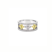Diamond Flowering Air Ring