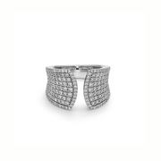 Diamond Split Band Ring