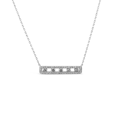 Diamond Air Bar Pendant