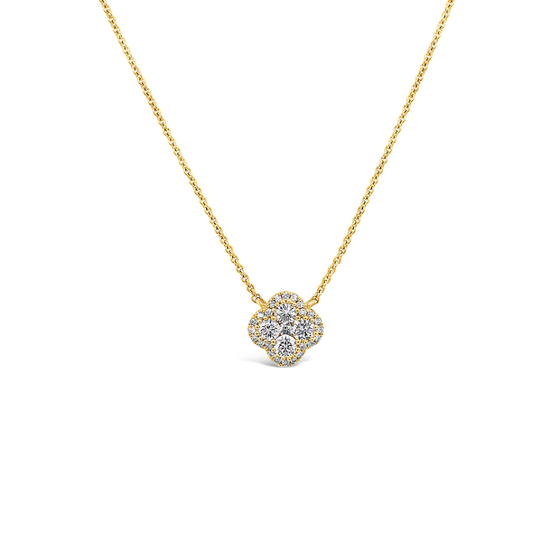 Diamond Clover Pop Pendant