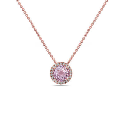 Pasgel Diamond Station Necklace
