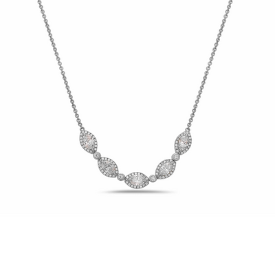 Diamond Firefly Classic Necklace