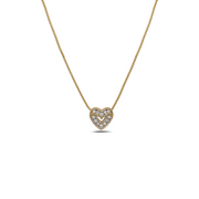 Diamond Sweetheart Pendant